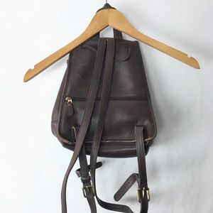 Coach Bags - Coach legacy backpack brown leather